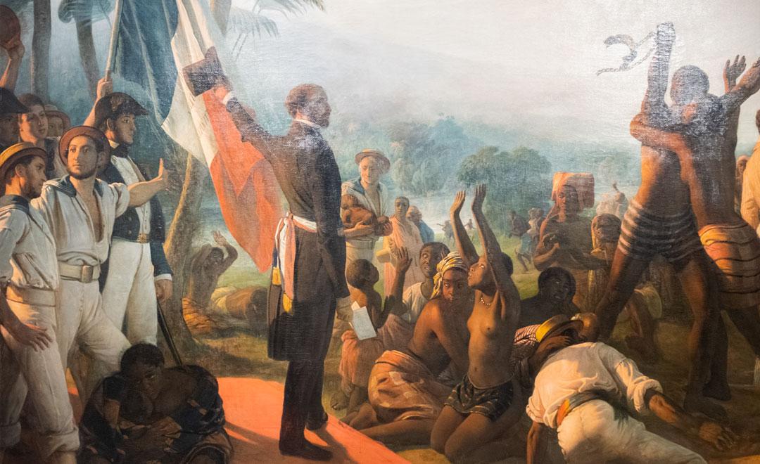 Francois-Auguste Biard - L'Abolition De L'Esclavage Dans Les Colonies Françaises Le 27 Avril 1848 (Detail)