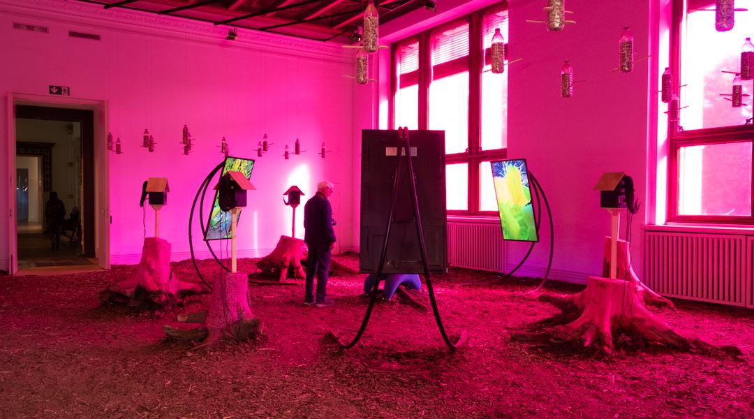 Heather Phillipson - Mesocosmic Indoor Overture (2019)