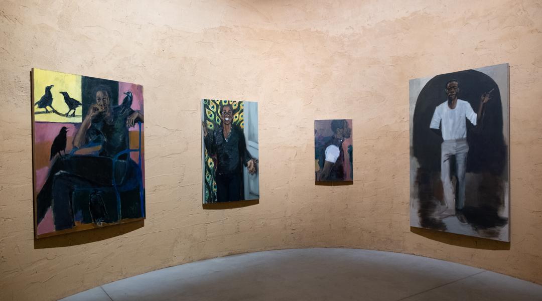Lynette Yiadom Boakye (multiple works)