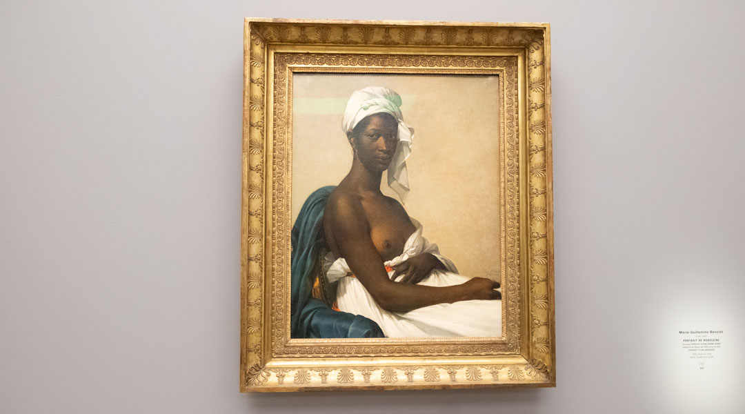 "Marie-Guillemine Benoist - ""Portrait de Madeleine"" (originally: ""Portrait d'une n�gresse"" later changed to ""Portrait d'une femme noire""), 1800"
